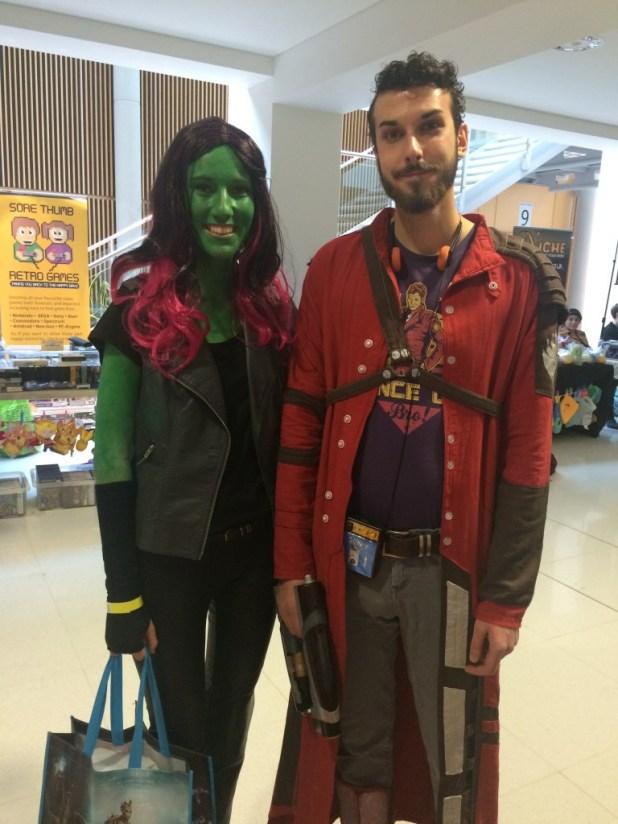 Cosplayers at Nottingham Comic Con 2015. Photo: Tony Esmond.