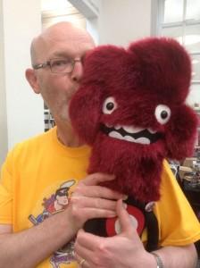 John Freeman (and friend). Photo: Sharon Tait