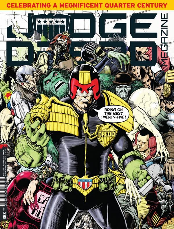 Judge Dredd Megazine 365 Cover