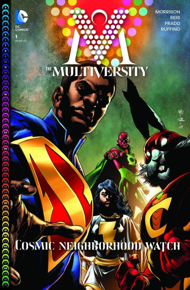 Multiversity Deluxe Edition Hard Cover