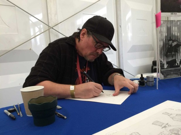 Artist Time Sale at Thought Bubble 2014. Photo: An Englishman in San Diego, via Thought Bubble Festival