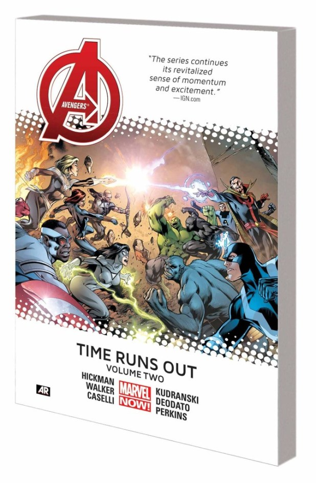 Avengers Time Runs Out Trade Paperback Volume 2