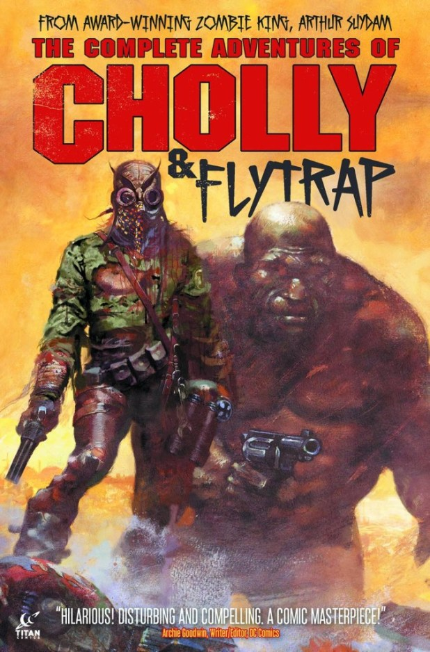 Complete Adventures Of Cholly & Flytrap Hard Cover