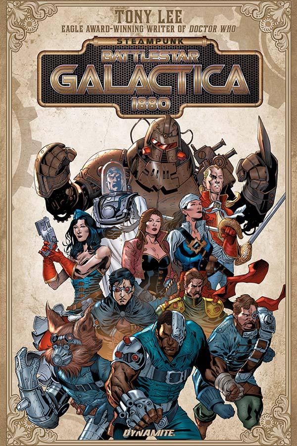 Steampunk Battlestar Galactica 1880 Trade Paperback