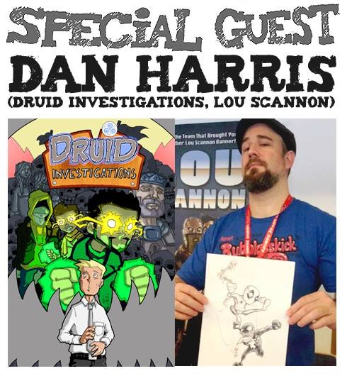 Awesome Comics Podcast Episode 19: Dan Harris and Barry Nugent