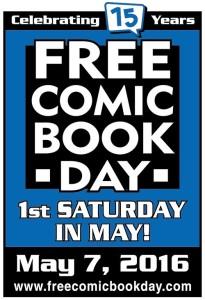 Free Comic Book Day 2016 Logo