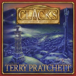 Clacks Boardgame Cover Art