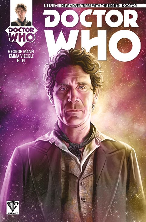 Doctor Who: The Eighth Doctor #1 Variant by Mariano Laclaustra