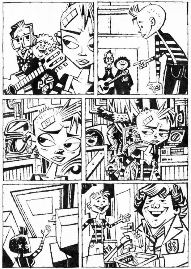 21st Centurt Tank Girl by Jonathan Edwards