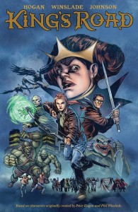 This 48-page King's Road special includes all King's Road chapters from Dark Horse Presents by Peter Hogan and Phil Winslade — and an additional issue's worth of story drawn by Staz Johnson.