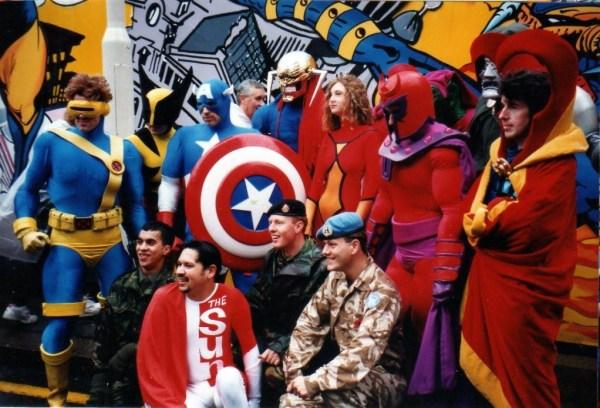 Marvel UK supports the troops at the London Lord Mayor's Parade