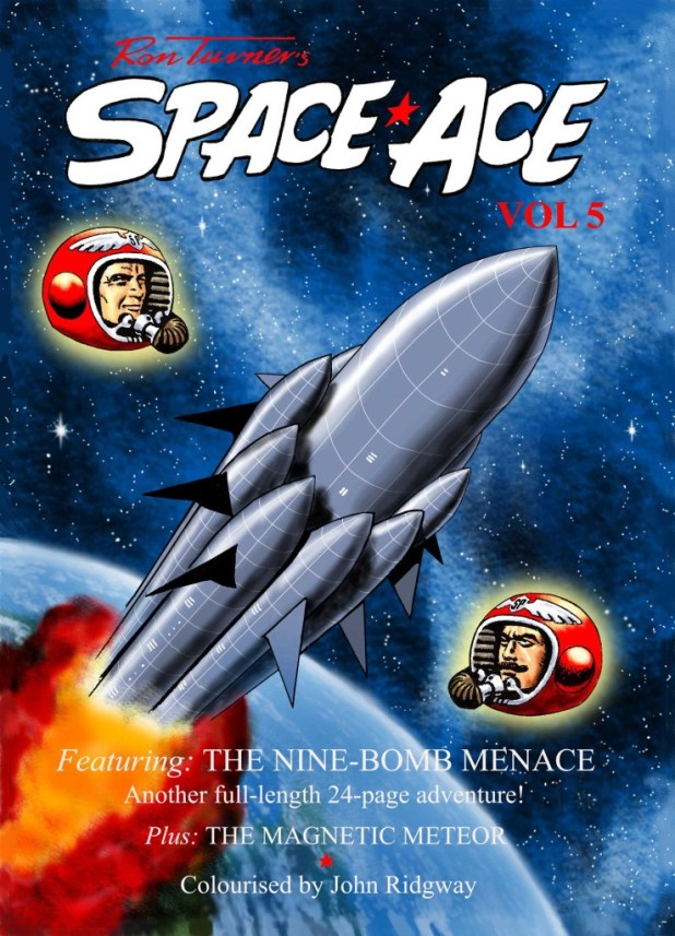 Space Ace Volume 5 - Cover
