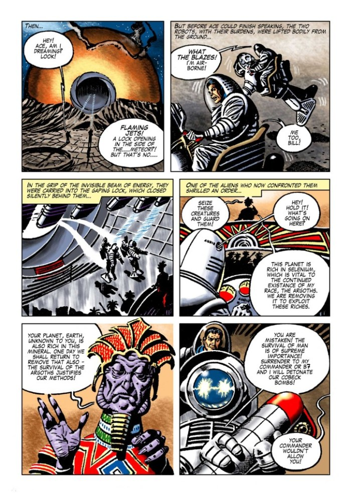 """Space Ace Volume 5 - """"Magnetic Meteor"""""""