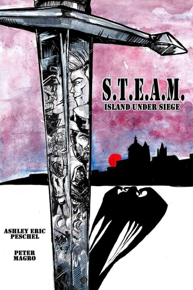 S.T.EA.M. - Island Under Siege #1 - Cover