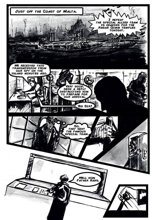 S.T.EA.M. - Island Under Siege #1 - Sample 2