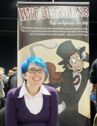 Kate Ashwin at Thought Bubble 2015