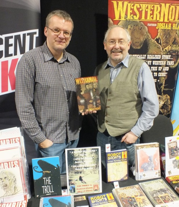 Thought Bubble 2015 e WesterNoir Dave West Gary Crutchley