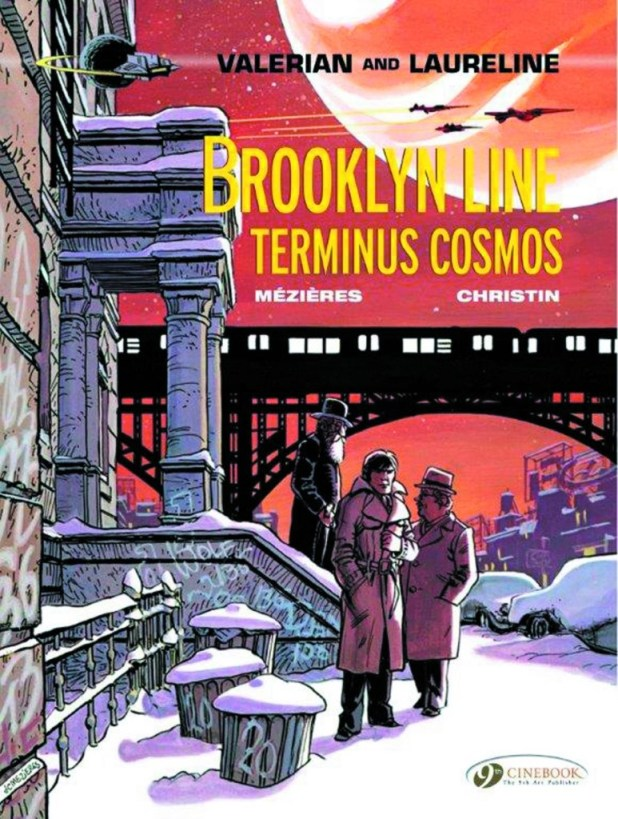 Valerian Graphic Novel Volume 10 Brooklyn Line