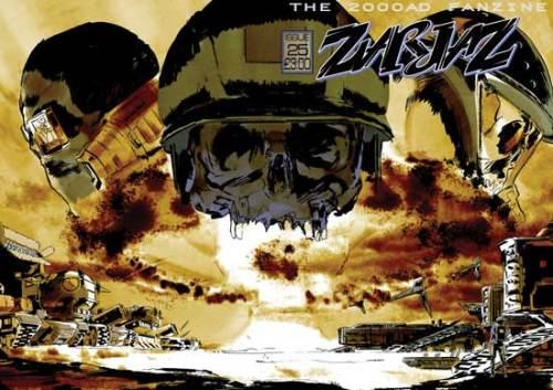 Zarjaz Issue 25 - Wrap Around Cover