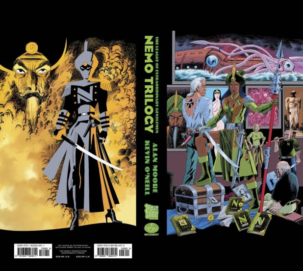 League of Extraordinary Gentlemen: Nemo Trilogy Hard Cover Slipcase Edition