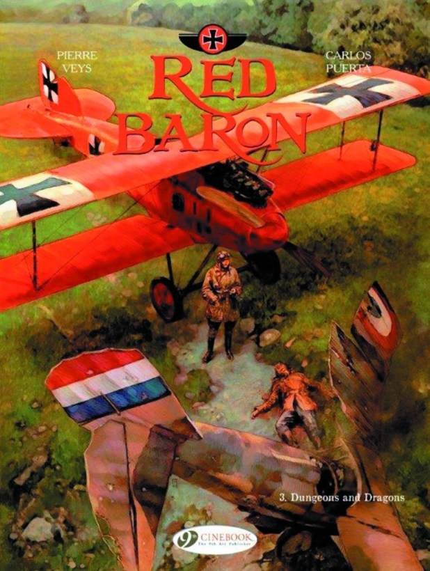 Red Baron Graphic Novel Volume 3: Dungeons & Dragons