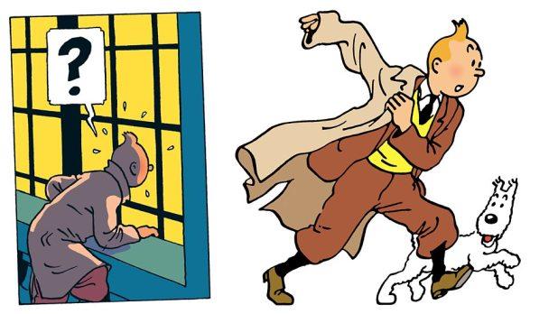 Tintin by Hergé © Hergé / Moulinsart 2015
