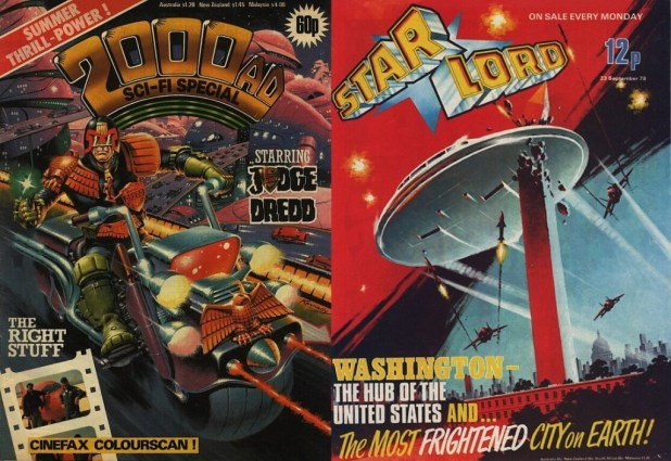 2000AD Starlord Painted Covers