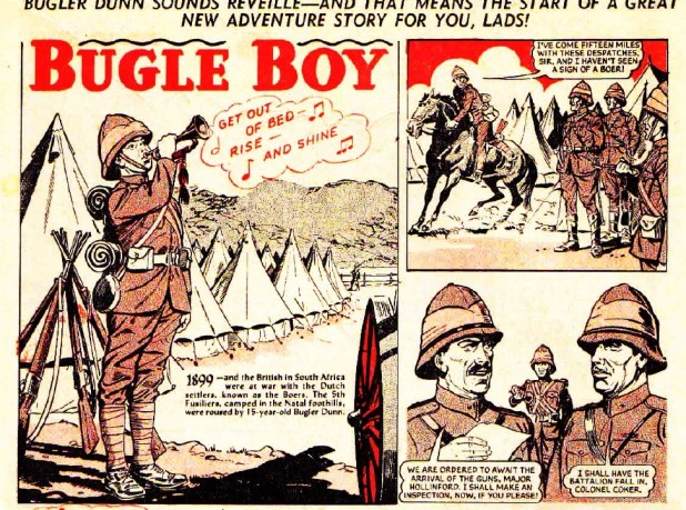 "The Hotspur 155: ""Bugle Boy"""
