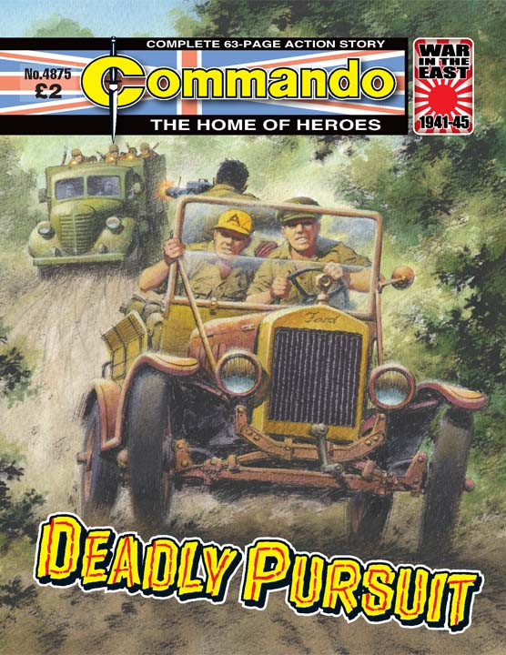 Commando No 4875 – Deadly Pursuit