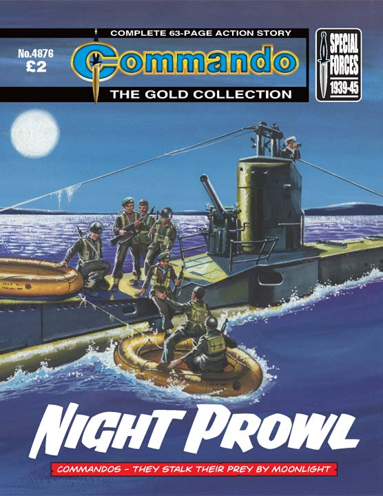 Commando No 4876 – Night Prowl