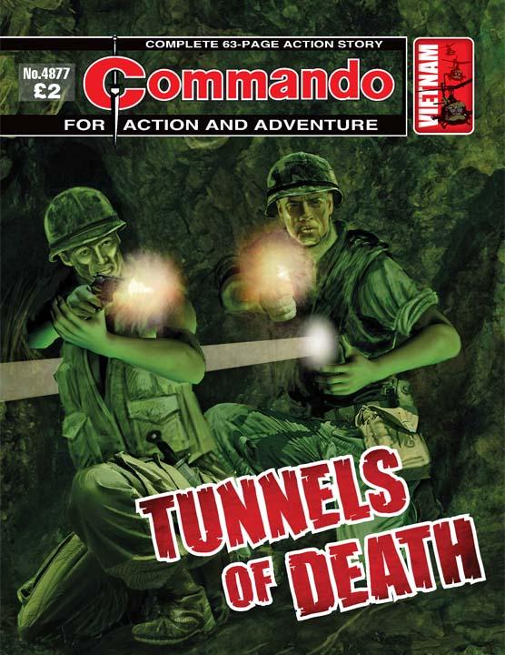 Commando No 4877 – Tunnels Of Death