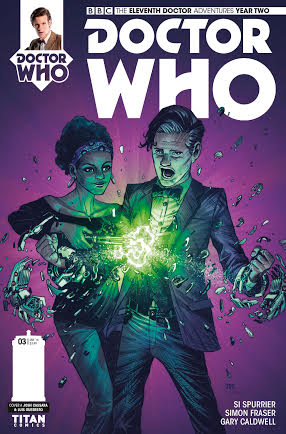 Doctor Who: The Eleventh Doctor Year 2 #3 - Cover - Small