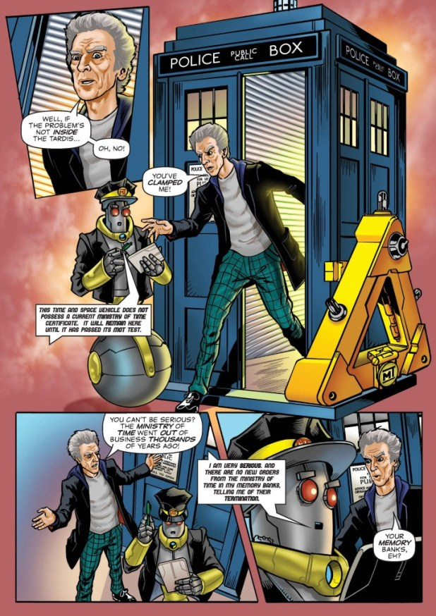 Doctor Who Adventures Issue 9 - Strip