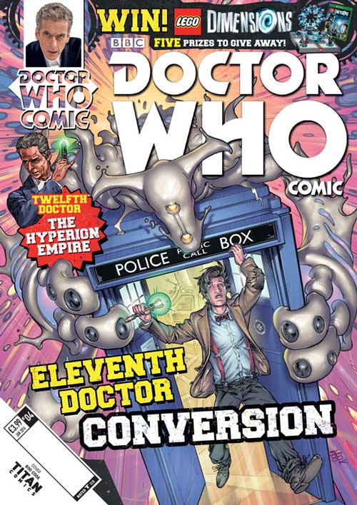 Doctor Who Comic Year 2 #4 UK