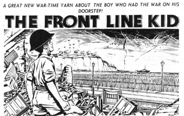 "Hotspur Issue 85: ""The Front Line Kid"""