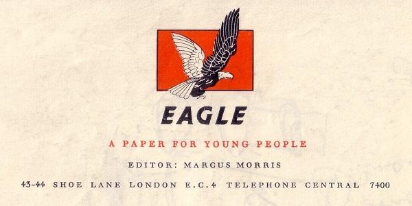 Eagle - Hulton Press Letterhead