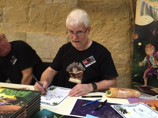 Malta Comic Con 2015: Tim Perkins