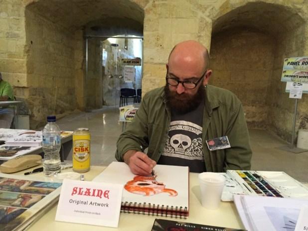Malta Comic Con 2015: Simon Davis