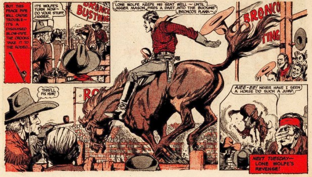 The Beezer Issue 52: Lone Wolfe - Rodeo Story