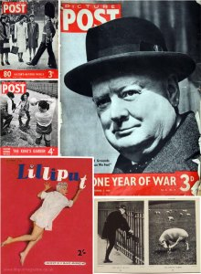 Picture Post and Lilliput magazines