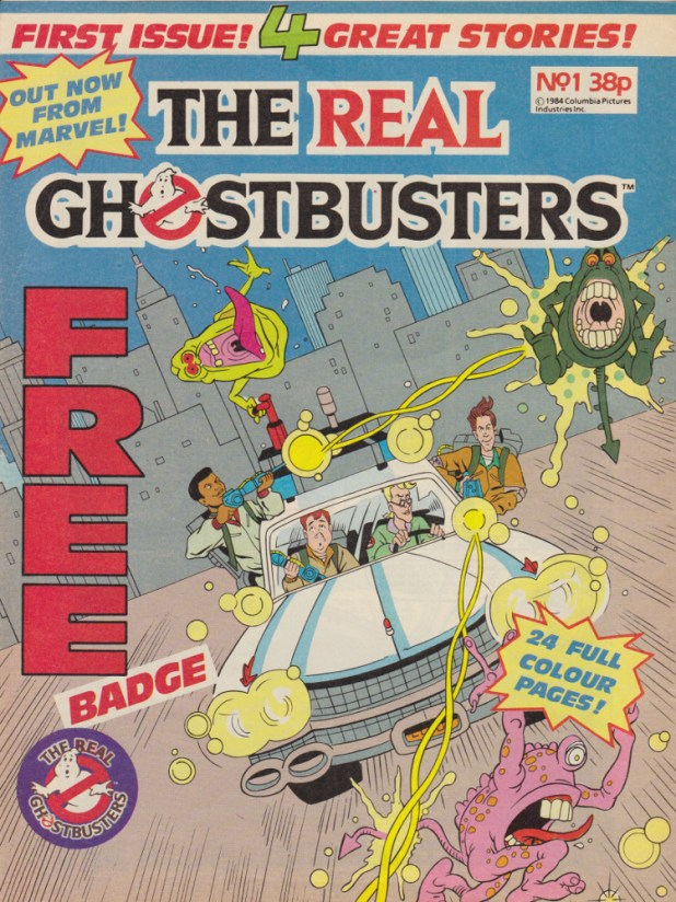Real Ghostbusters #1 - Cover