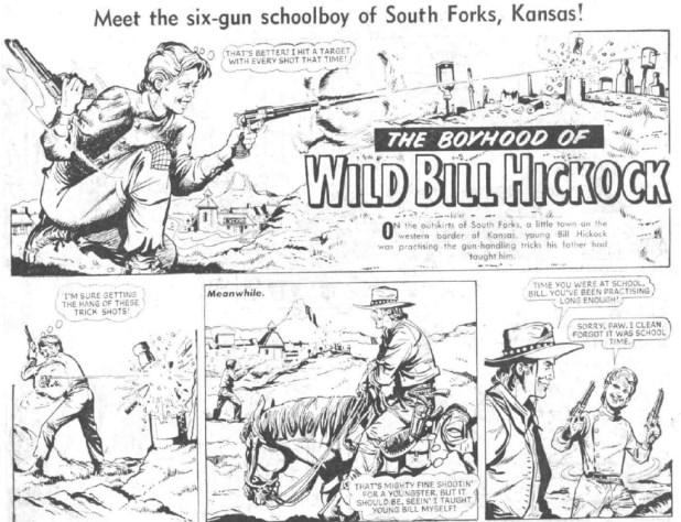 "The Hotspur: ""The Boyhood of Wild Bill Hickock"""