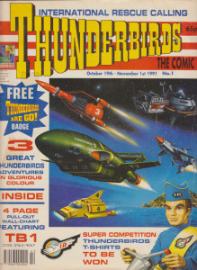 Thunderbirds: The Comic #1 - Cover
