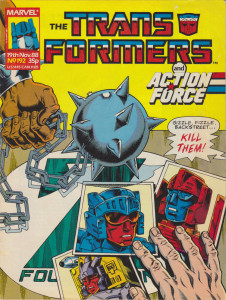 Transformers Issue 192 - Cover
