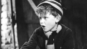 William (played by Richard Lupino) has a run-in with jewel thieves in the 1940 film Just William