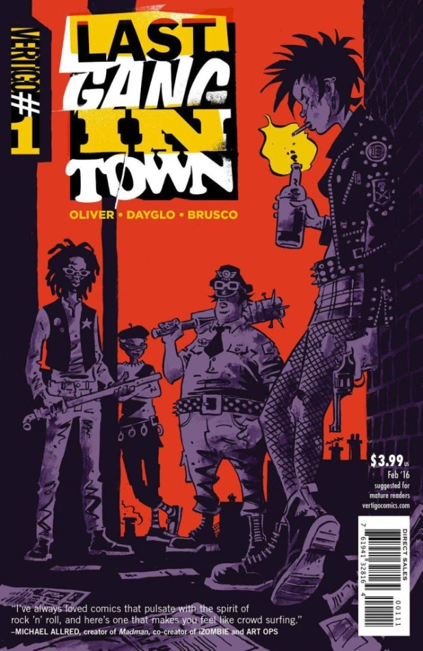 Last Gang in Town #1 - Cover