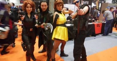 Avengers cosplayers Rachael Barney, Rich Oliver, Alexis Kaisharis and Chris Mallarkey. Photo © K Clancy Photography