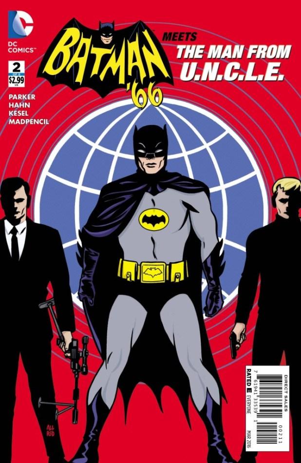 Batman 66 Meest the Man from U.N.C.L.E. #2
