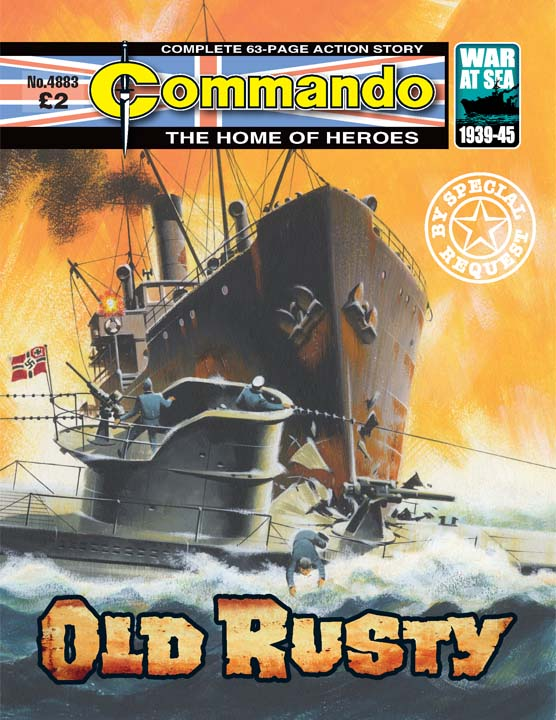 Commando No 4883 – Old Rusty