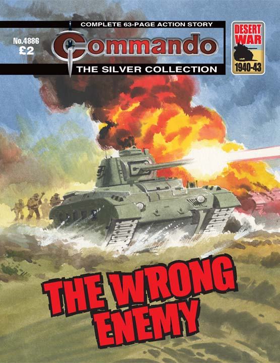 Commando No 4886 – The Wrong Enemy